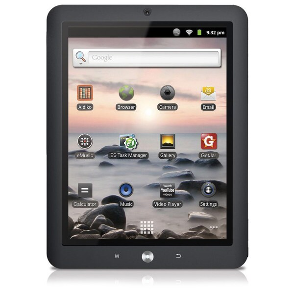 "Coby Kyros MID8125 91GHz 4GB 8"" Android Tablet"