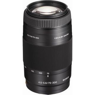 Sony AF D 75-300mm f/4.5-5.6 Autofocus Zoom Lens