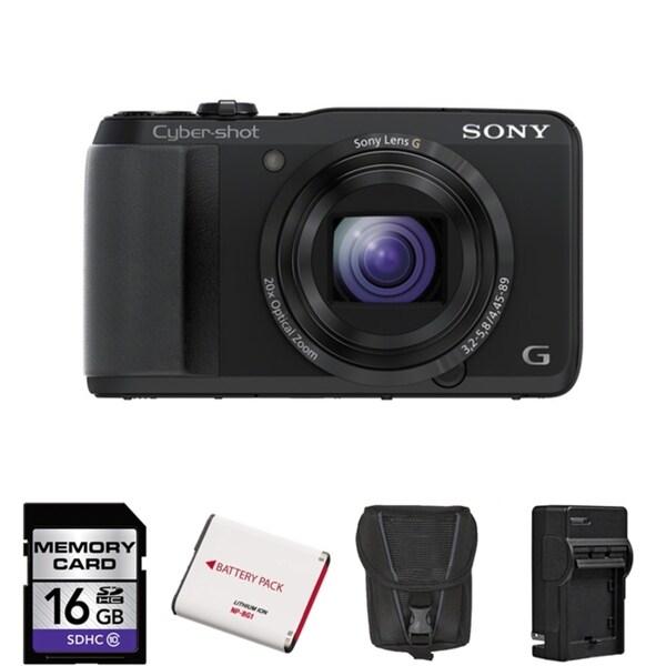 Sony Cyber-Shot DSC-HX30V 18MP Digital Camera Bundle