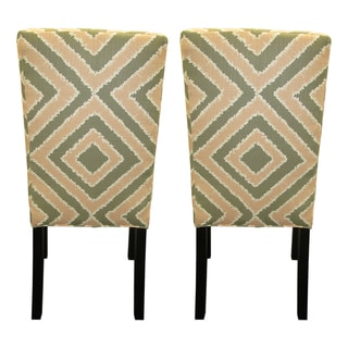 Nouveau Patterned Dining Chairs (Set of 2)