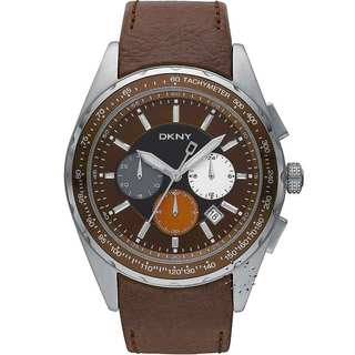 DKNY Men's Brown Chronograph Date Watch