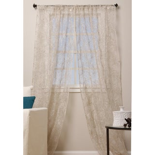 Rose Design 96-inch Curtain Panel