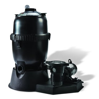 Pentair Sta-Rite 150 Sq.-ft Mod Media Filter System w/ 1.5 HP Pump for Above Ground Pools