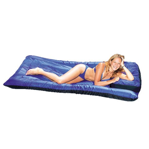 Ultimate 78-in Floating Pool Mattress - Navy Blue