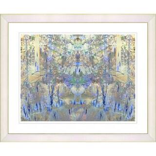 Studio Works Modern 'Blue Summer Land' Framed Print