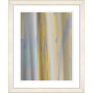 Studio Works Modern 'Yellow Flow' Framed Print