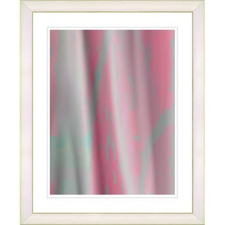 Studio Works Modern 'Pink Flow' Framed Print
