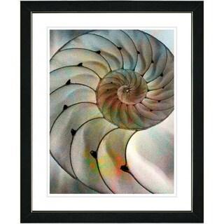 Studio Works Modern 'Sea Cambrian' Framed Print