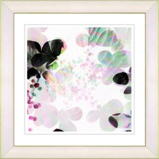 Studio Works Modern 'Breeze Floral' Framed Fine Art Giclee Print
