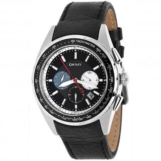 DKNY Men's Black Dial Chronograph Date Watch