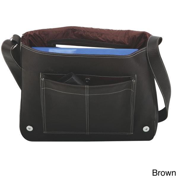 Bugatti Rio Grande Columbian Leather Flap Over Messenger Bag