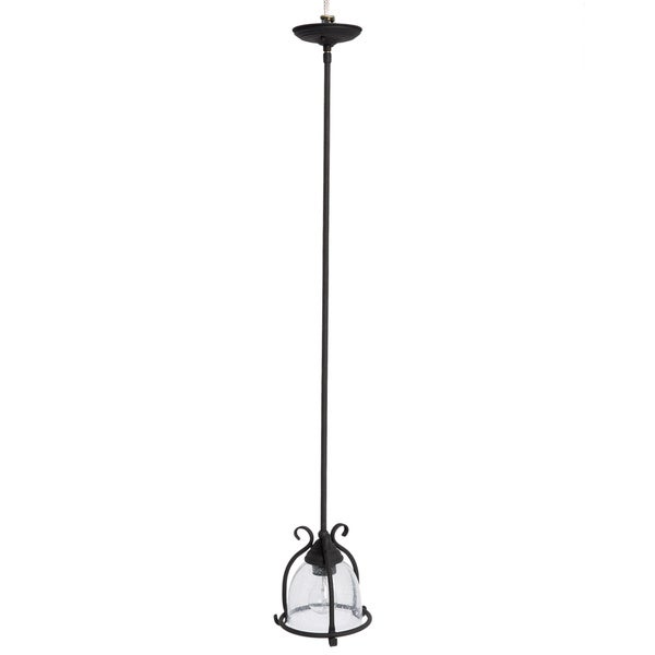 Sea Gull Lighting Single-Light Manor House Mini-Pendant