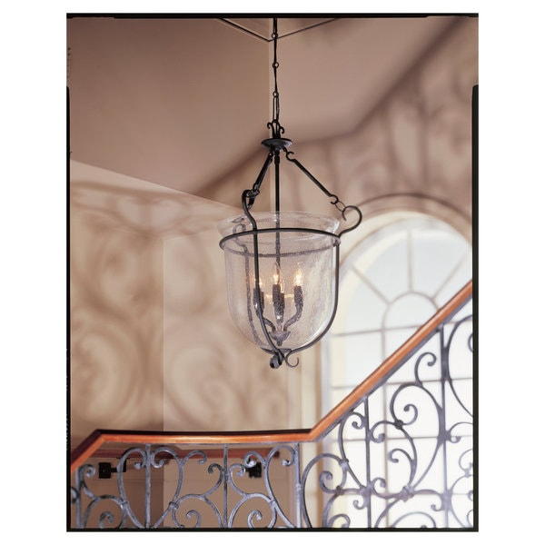 6-light Manor House Hall/ Foyer Fixture