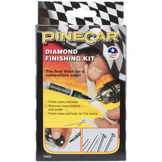 Pine Car Derby Diamond Finishing Kit