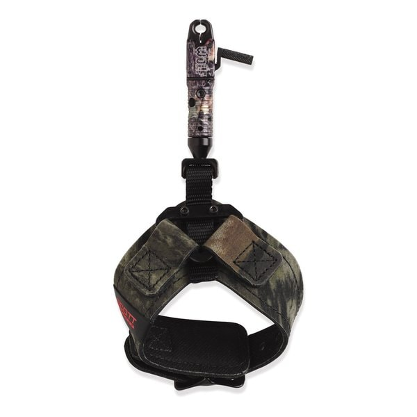 Scott Archery Wolf Camo Dual-caliper Release with Buckle Strap