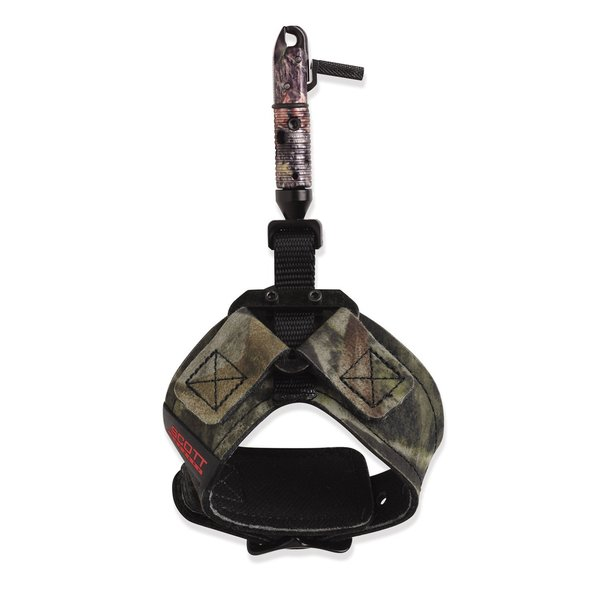 Scott Archery Wolverine Camo Single-caliper Release with Buckle Strap