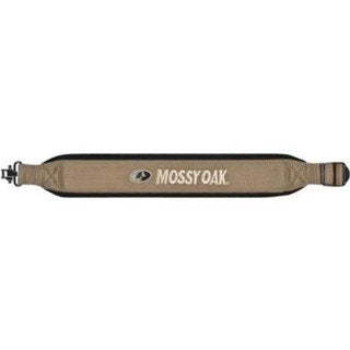 Mossy Oak Hunting Caston Series Padded Rifle Sling Taupe with Black Trim