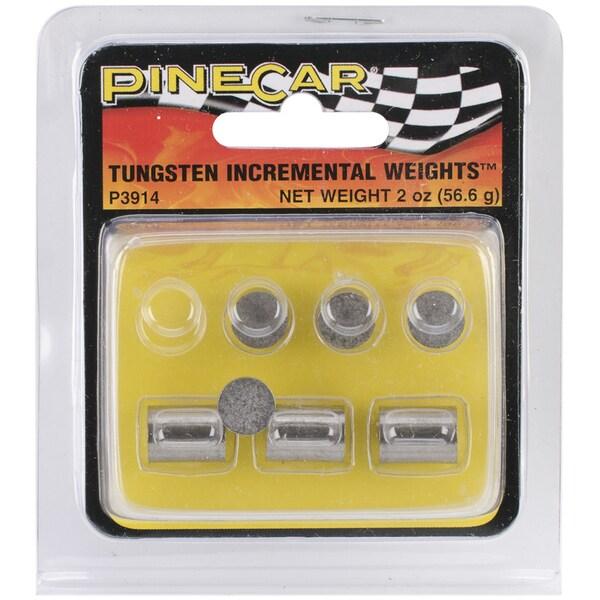 Pine Car Derby 2-ounce Tungsten Incremental Cylinder Weights