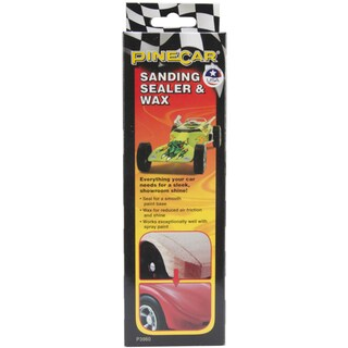 Woodland Scenics Pine Car Derby Sanding Sealer And Wax