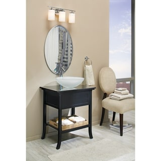 Sea Gull Lighting 3-light Wall/ Bath Chrome Finish Vanity Light