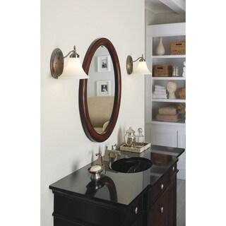 Sea Gull Lighting 1-light Antique Brushed Nickel Finish Wall/ Bath Light