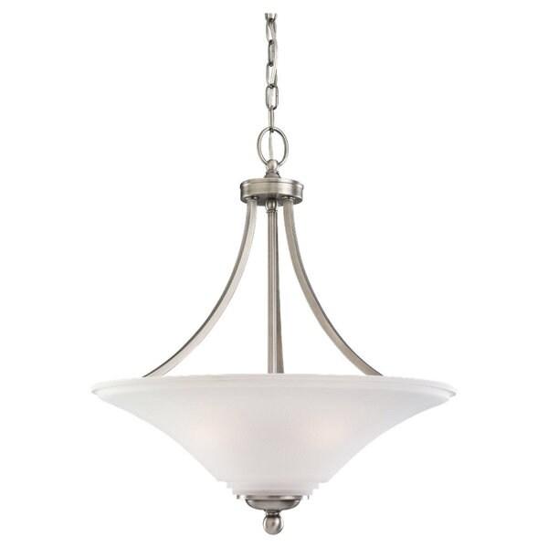 Shop Sea Gull Lighting Three Light Pendant