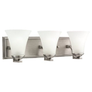 Sea Gull Lighting Somerton 3-light Antique Brushed Nickel Bath Bar Vanity