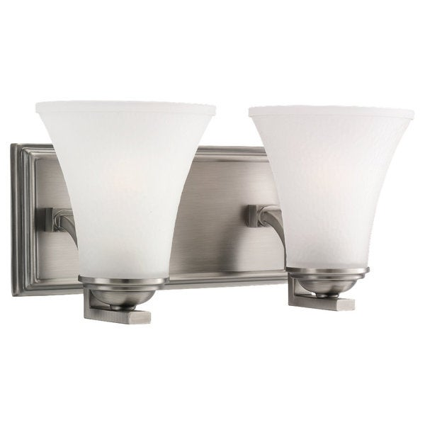 Replace Vanity Light Bar With Two Lights : Sea Gull Lighting Somerton 2-light Antique Brushed Nickel Bath Bar Vanity - Free Shipping Today ...