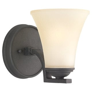 Sea Gull Lighting Somerton 1-light Blacksmith Wall Sconce