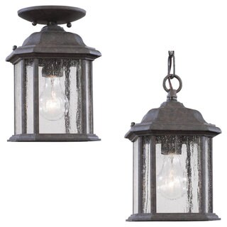 Sea Gull Lighting Kent 1-light Oxford Bronze Outdoor Pendant