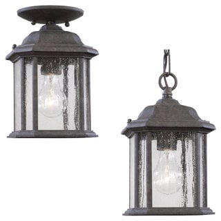 Link to Sea Gull Lighting Kent 1-light Oxford Bronze Outdoor Pendant Similar Items in Outdoor Ceiling Lights