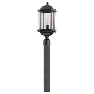 Sea Gull Lighting Kent 1-light Black Outdoor Lantern
