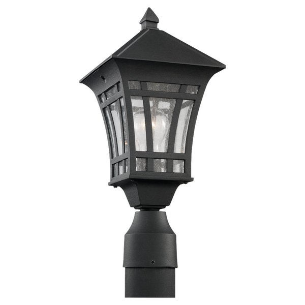 Shop Sea Gull Lighting Herrington 1-light Black Outdoor