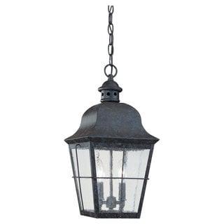 Sea Gull Lighting Colonial 2-light Oxidized Bronze Outdoor Pendant
