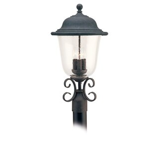 Sea Gull Lighting Trafalgar 3-light Oxidized Bronze Outdoor Post Lantern