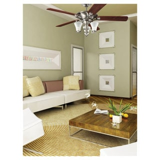 Sea Gull Lighting Somerton 56-inch Antique Brushed Nickel Ceiling Fan