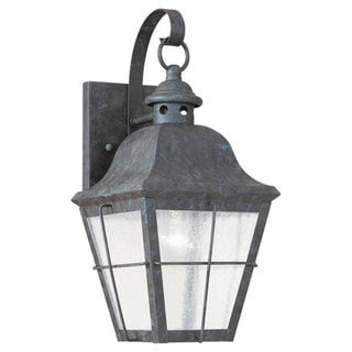Sea Gull Lighting Chatham Oxidized Bronze 1-light Outdoor Wall Lantern
