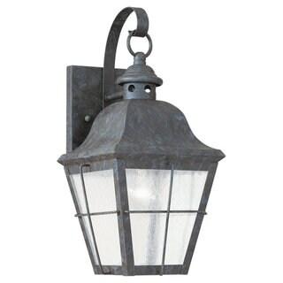 Sea Gull Lighting Chatham Oxidized Bronze 1-light Outdoor Wall Lantern