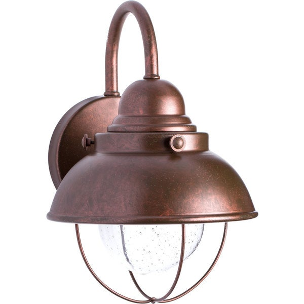 Sea Gull Lighting Sebring Weathered Copper Outdoor Wall Lantern Free Shippi