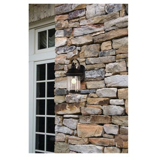 Sea Gull Lighting Hermitage Antique Bronze Outdoor Wall Lantern