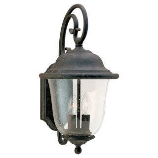 Sea gull lighting outdoor lighting shop our best garden patio sea gull lighting trafalgar oxidized bronze 2 light outdoor lantern aloadofball Images
