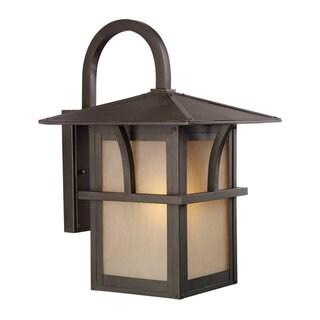 Sea Gull Lighting Medford Statuary Bronze 1-light Outdoor Lantern