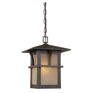 Sea Gull Lighting Medford Statuary Bronze 1-light Outdoor Pendant Lamp