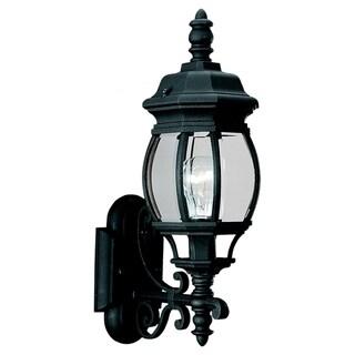 Wynfield 1-Light Black Wall Lantern