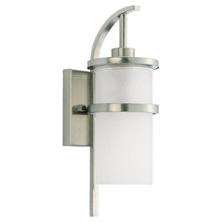 Eternity 1-Light Brass Outdoor Lantern