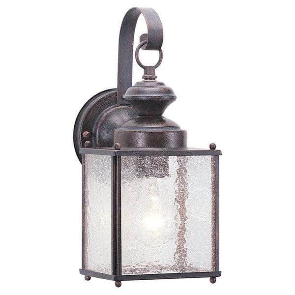 Jamestowne Outdoor Wall Light: Shop Jamestowne One-Light Outdoor Aluminum Wall Lantern