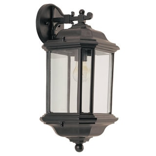 Kent 1-Light Black Outdoor Wall Lantern