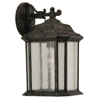 Kent Bronze Traditional Outdoor 1-Light Wall Lantern