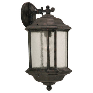 Kent Bronze Outdoor 1-Light Wall Lantern
