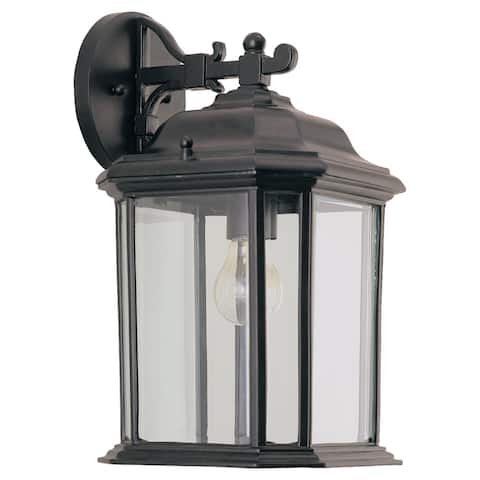 Kent Black Outdoor 1 Light Wall Lantern